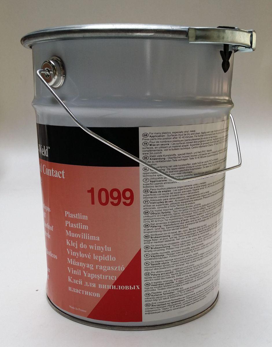 3m scotchweld contactlijm 1099 tbv kunststof 5l