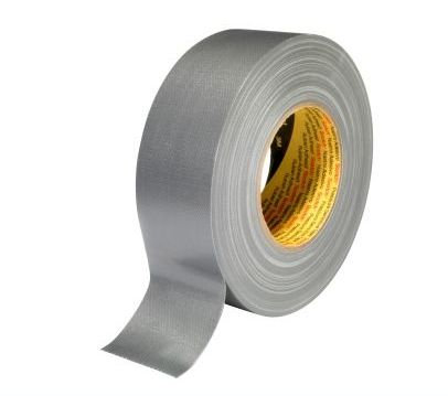 3m scotch ducttape 389 dikte 026 mm 50 mm x 50 m zilver