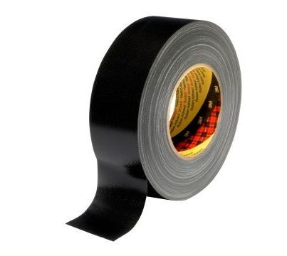 3m scotch ducttape 389 dikte 026 mm 19 mm x 50 m zwart