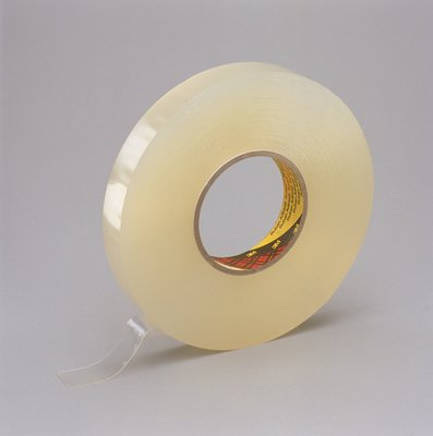3m scotch removable foam tape 08mm dik 25 mm x 25 m helder