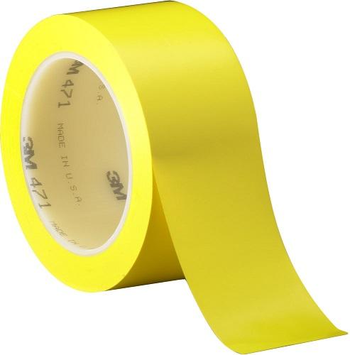 scotch markeringstape 471 dikte 013 mm 50 mm x 33 m geel