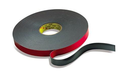 3m vhb 5962 dikte 155 mm breed 12 mm x 33 m zwart