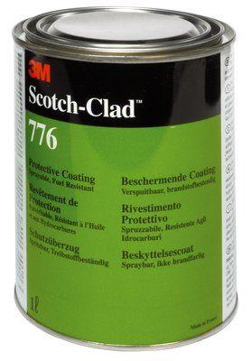 3m scotch clad 776 fual resistant coating