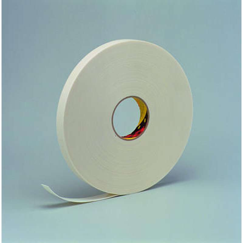 3m scotch 9528 pe schuimtape 08 mm dik 12 mm x 66 m wit