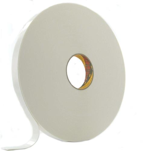 9529 scotch dubbelzijdig schuim tape breed 19 mm 16 mm dik wit