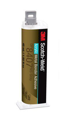 3m dp8407ns grijs 101 metal bonder 45 ml