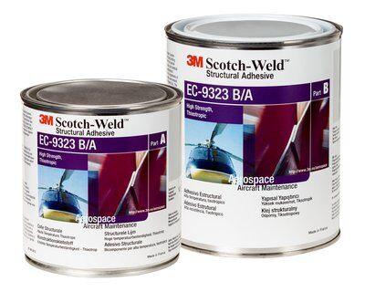 3m ec 9323 ba scotchweld structural adhesive 1l