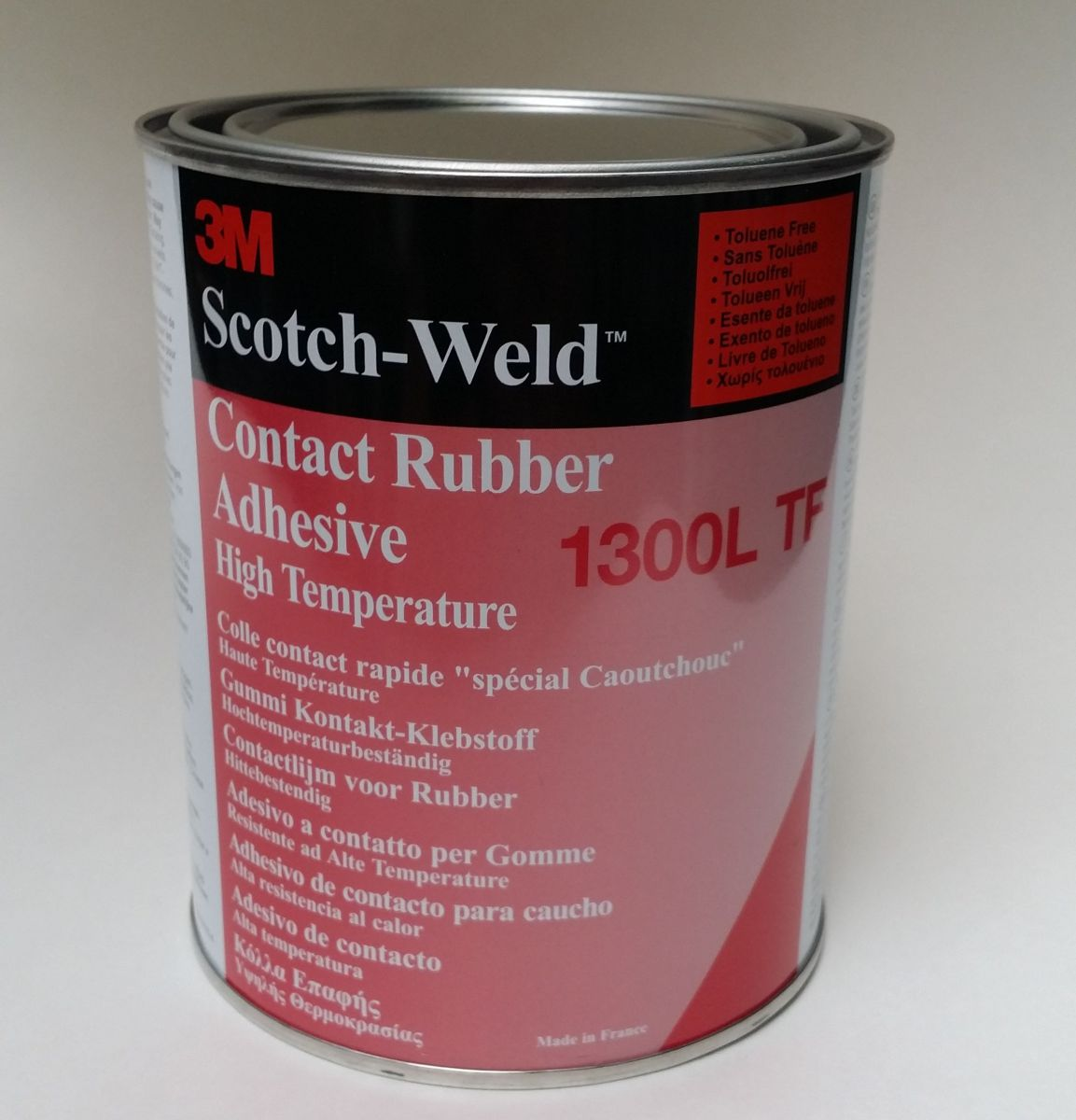 3m scotchweld contactlijm 1300ltf rubber en pakkingen 1l