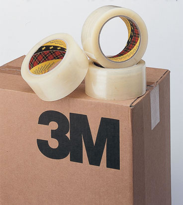 3m scotch dozensluittape 371 50 mm x 990 m transparant