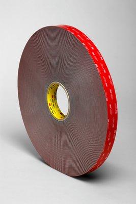 3m vhb 4991 dikte 23 mm breed 25 mm x 16 m grijs