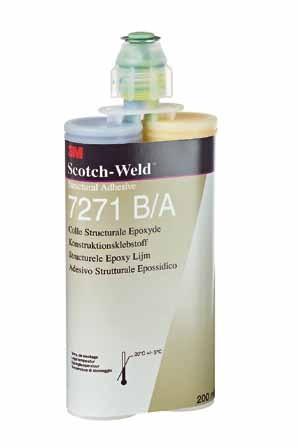 3m scotchweld structurele lijm 7271 ba 400ml