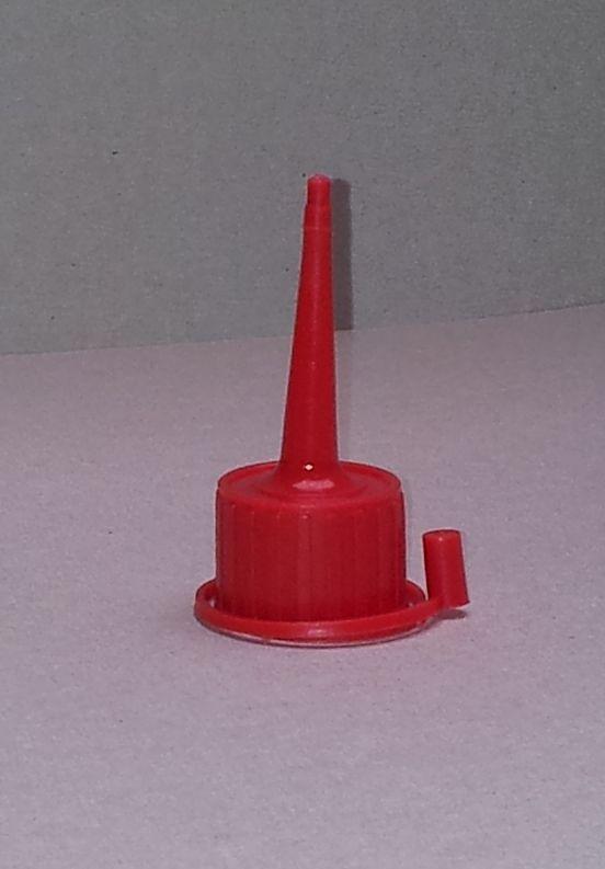 Flesdop HDPE voor 200ml fles, rood | Welkom bij Van ...