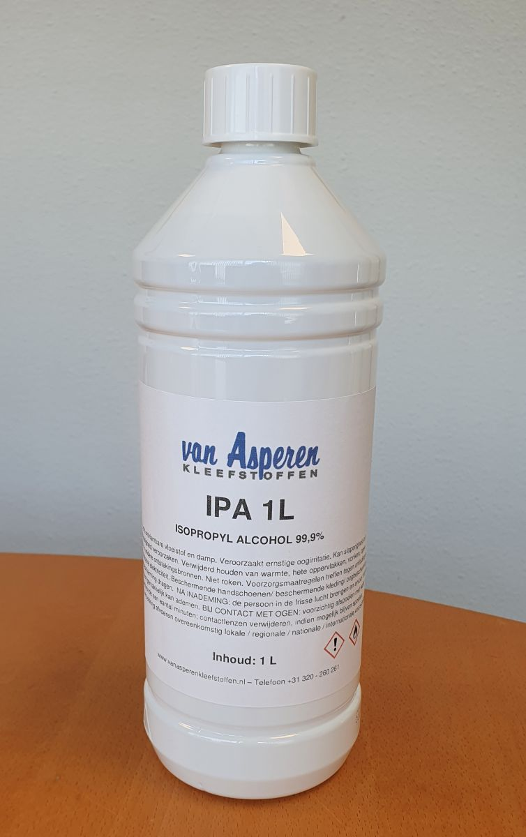 isopropyl alcohol 999 zuiver
