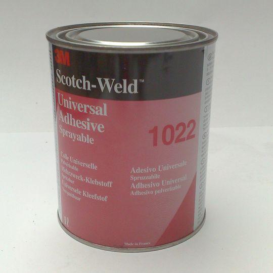 3m scotchweld contactlijm 1022 universeel 1l