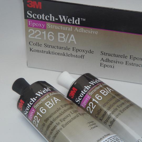 3m scotchweld structurele lijm 2216 ba 250 ml grijs
