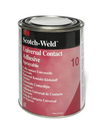 3m scotchweld 10 universele contactlijm geel 1l