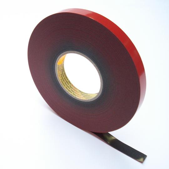 3m vhb 4646f dikte 06 mm breed 12 mm x 33 m grijs