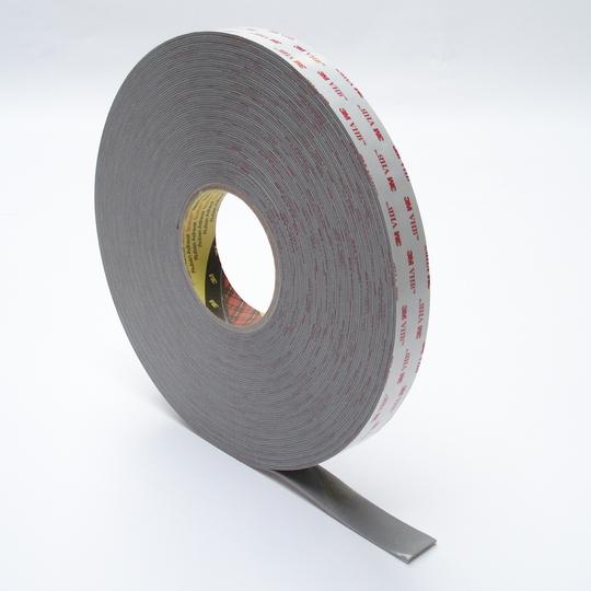 3m vhb 4941 dikte 11 mm breed 25 mm x 33 m grijs