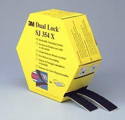 3m dual lock klikband sj354x gestanst 25 x 25 mm zwart