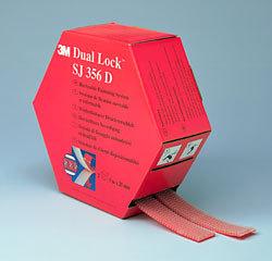 3m dual lock klikband sj356d 25mm x 5 m transparant
